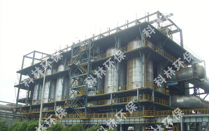 Blast furnace gas dry filter project